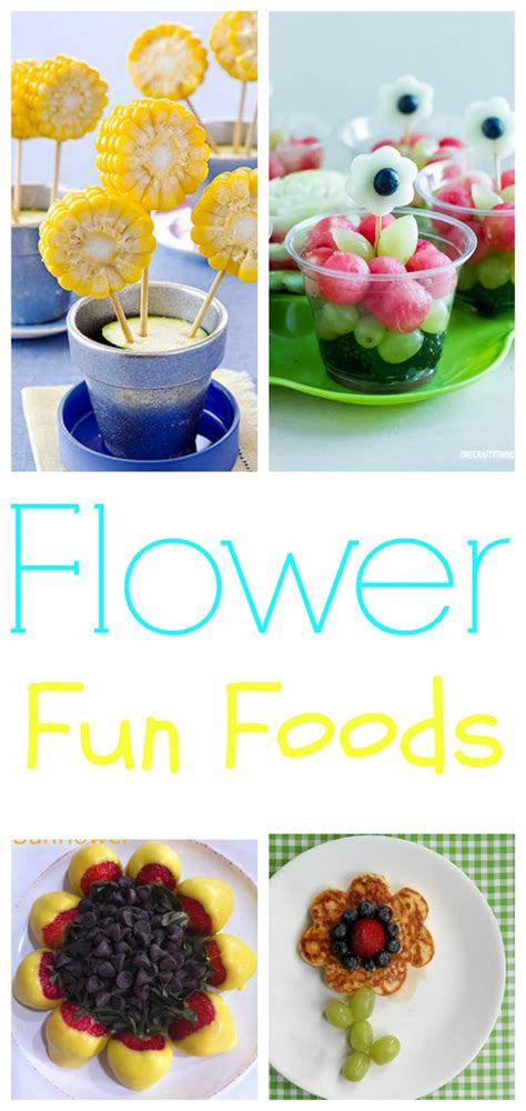 what is flower food flower fun food ideas for kids on mother s day round up