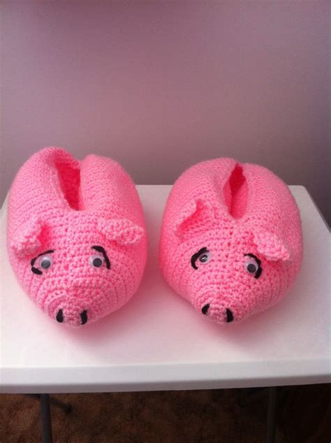 pig house shoes 17 best images about crochet pigs on pinterest free pattern micro pig and miss piggy