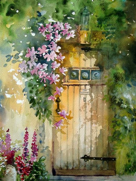 watercolor garden tutorial 17 best images about watercolour flowers on pinterest