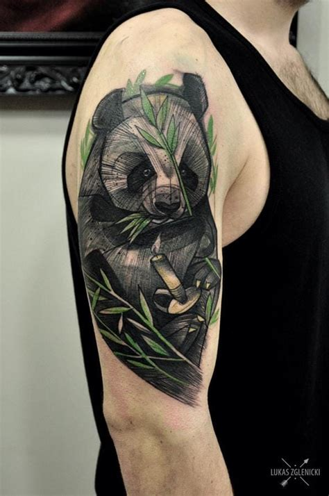 panda effect tattoo 25 irresistible panda tattoos tattoodo