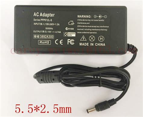 Adaptor Laptop Asus A46c 10pcs ac power supply 19v 4 74a notebook adapter charger
