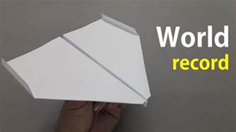 Paper Folding Record - how to fold the world record paper airplane