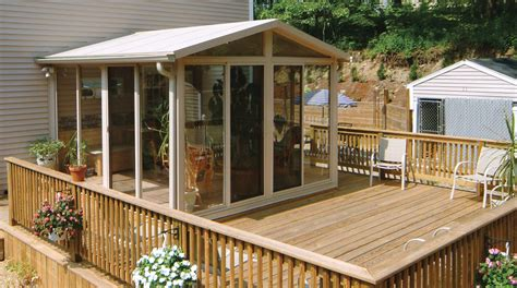Backyard Sunroom by Patio Enclosure Kit As Inspiration And Tips One