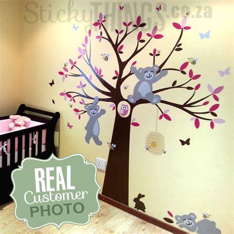 tatty teddy wall stickers tatty teddy like tree wall sticker stickythings co za