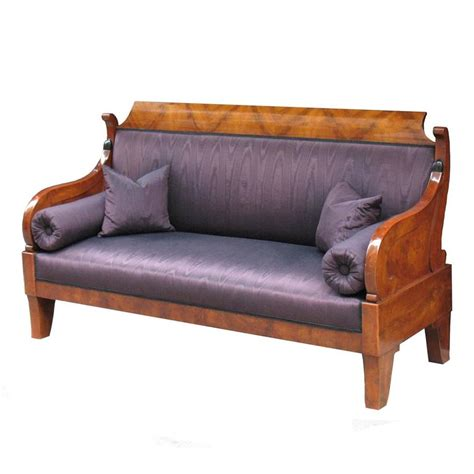 Settee Sofa Or by Exemplary Russian Biedermeier Sofa Or Settee At 1stdibs