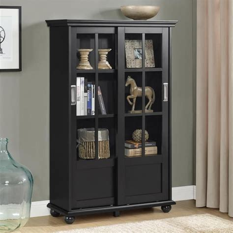 black bookcases with doors 25 best ideas about sliding glass doors on