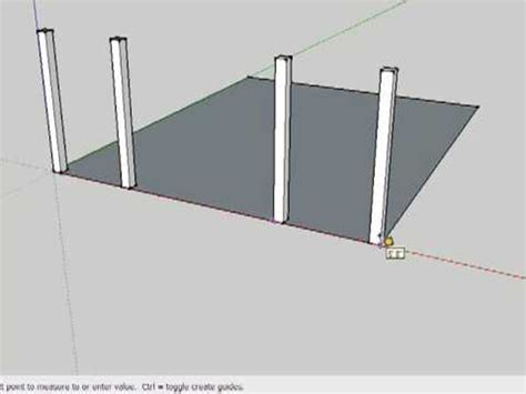 Timber Frame Design Using Google Sketchup Download | drawing a timber frame in sketchup part 1 youtube