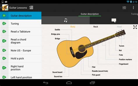 guitar tutorial video free download guitar lessons beginners lite android apps on google play