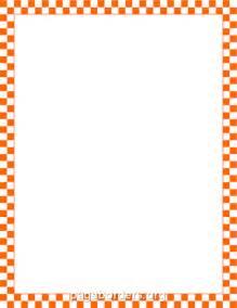 Description Orange Border With An Orange Ribbon » Ideas Home Design