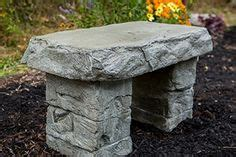 cast petrified rock bench quot garden bench quot wooden bench cast petrified wood