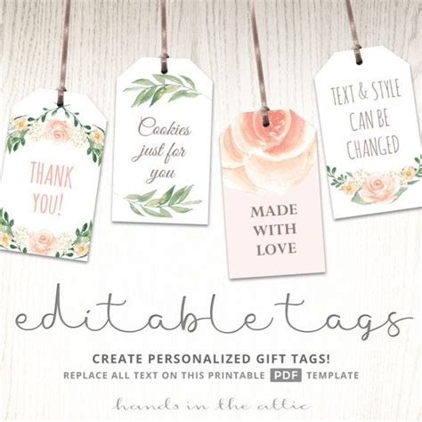 186 best gift favor tags images on
