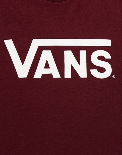 Sweater Vans Motif Logo Hitam lyst vans t shirt with logo print in for