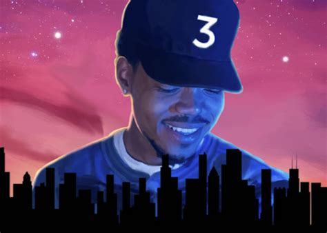 coloring book chance the rapper album chance the rapper recalls the time phife dawg visited him