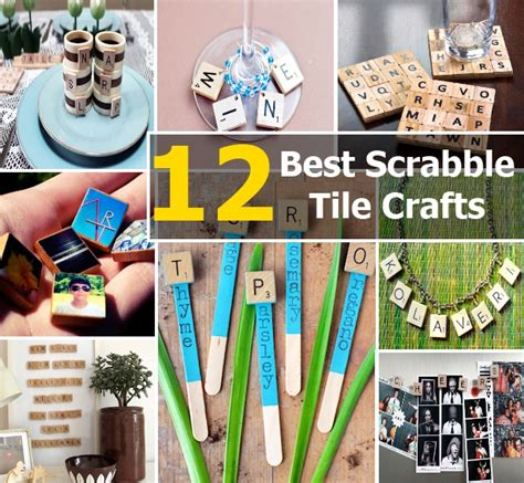 scrabble tile crafts 12 of the best scrabble tile crafts diy home things