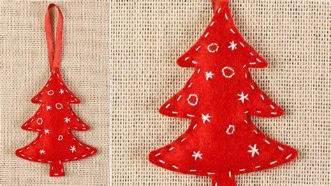 arbol navidad fieltro adornos de navidad de fieltro f 225 ciles de hacer general