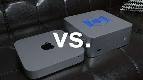 $682 Hackintosh Mac Mini vs. $1,300 Apple Mac Mini   YouTube