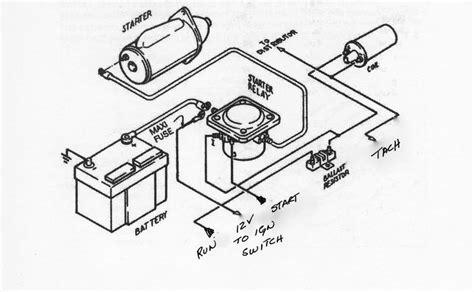 ballast resistor wiring diagram ballast free wiring