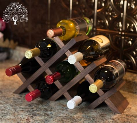 Handmade Wine - 15 awesome handmade wine rack displays for a rustic look
