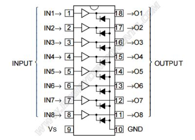 pnp transistor array ic forum hobbycomponents view topic m54562 transistor array ic hccoic0043