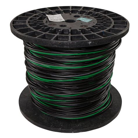 4 0 Use Cable by Southwire 500 Ft 4 0 4 0 2 0 4 Black Stranded Al Mhf Use