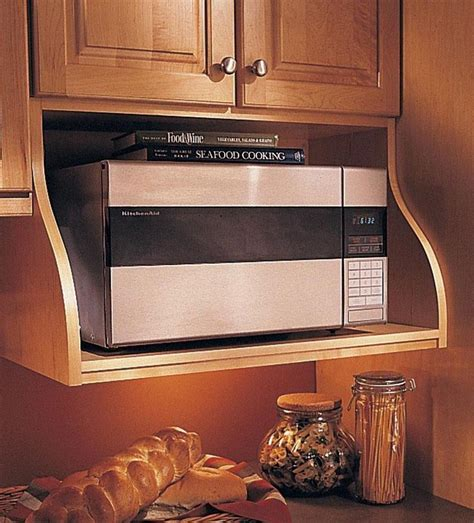 Kitchen Cabinets With Microwave Shelf 1000 Ideas About Microwave Shelf On Microwave Storage Stainless Steel Kitchen
