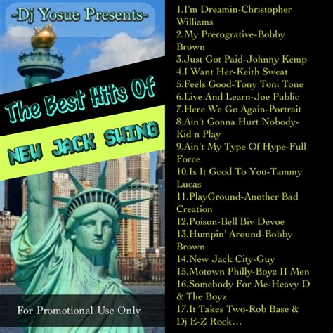 best of new jack swing dj yosue presents the best hits of new jack swing mix by