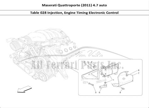 electronic stability control 2011 maserati quattroporte engine control buy original maserati quattroporte 2011 4 7 auto 028 injection engine timing electronic