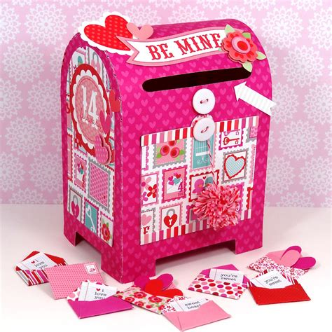 valentines day mailbox doodlebug design inc special delivery valentines mailbox