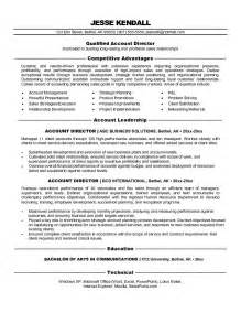 Sle Resume Account Executive by Non Executive Directors Resume Sales Director Lewesmr