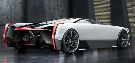 cadillac supercar cadilac estill super car concept by ondrej jirec tuvie
