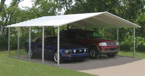 Two Car Carport Kits 2 Car Carport Kits Pessimizma Garage