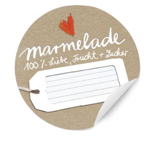 Marmeladenglas Aufkleber Drucken by 24 Marmeladenetiketten Natur Rund 40mm Eine Der Guten