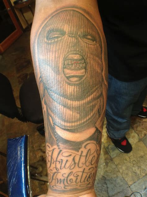 hustle tattoo hustler ambitions by mr tats