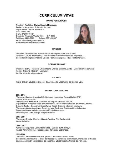 Modelo Curriculum Vitae Primer Empleo Curriculum Vitae Para Conseguir Trabajo 02 Gu 237 A Para Encontrar Trabajo En 17