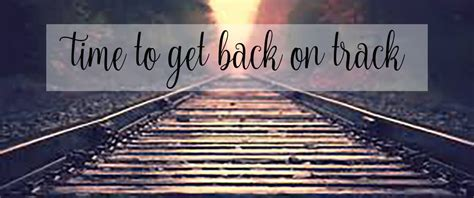Get Your On Track by 2 Fit Getting Back On Track