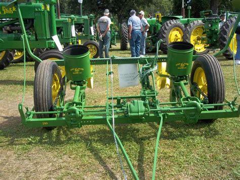 old 2 row corn planter john deere equipment pinterest