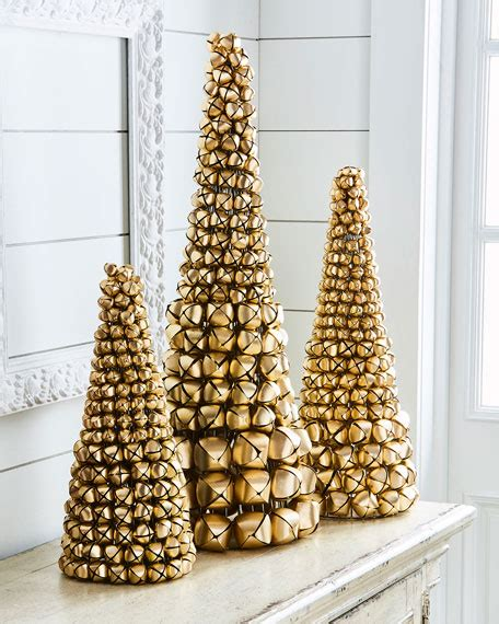 k k interiors jingle bell christmas tree 17 quot neiman marcus