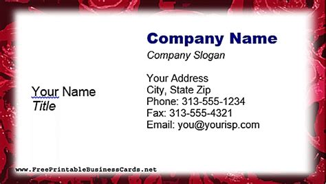 free templates for business cards to print at home free printable business card templates ebook