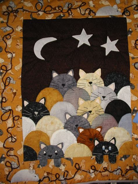 193 Best Images About Sewing Patchwork Quilting - 431 best quilts with cats images on cat quilt