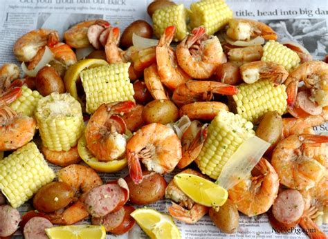 Backyard Wedding Party Ideas Low Country Shrimp Boil