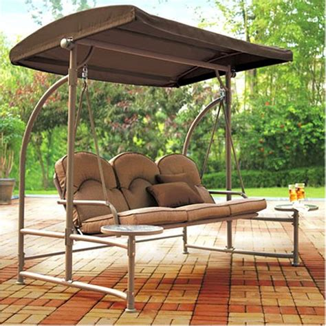 outdoor swing chair canopy replacement walmart home trends north hills replacement swing canopy
