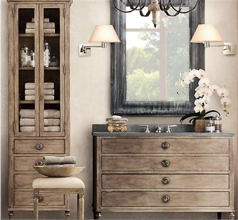 restoration hardware bathroom storage love this bathroom storage restoration hardware for