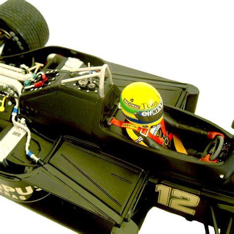 Kyosho 1 64 Lotus 98t 11 primeira vit 243 ria de ayrton senna 1985 lotus 97t escala 1