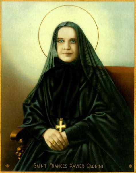 biography mother cabrini st frances xavier cabrini shrine new york city saints