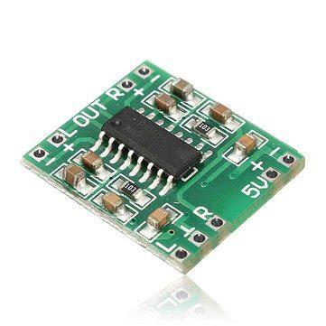 Miniature Mini Speaker Lifier Board Usb Powered 2 X 3w mini digital power lifier board 2 3w class d audio module usb dc 5v pam8403 us 1 61