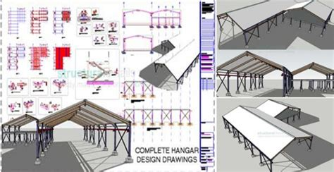 hangar layout software steel frame hangar the sle ready for free download