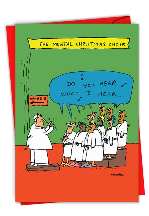 john callahans insane choir funny merry christmas card