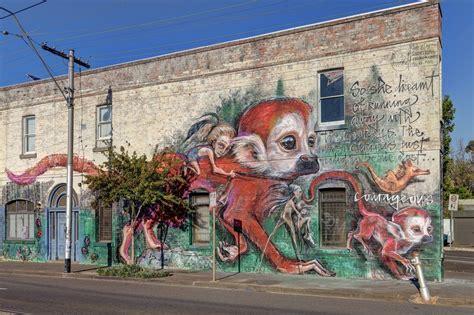 street art  herakut  melbourne australia street art