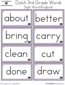sight words 3rd grade list dolch sight words free flash