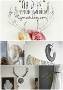 quot oh deer quot deer inspired home decor